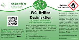 WC-Brillen Desinfektion
