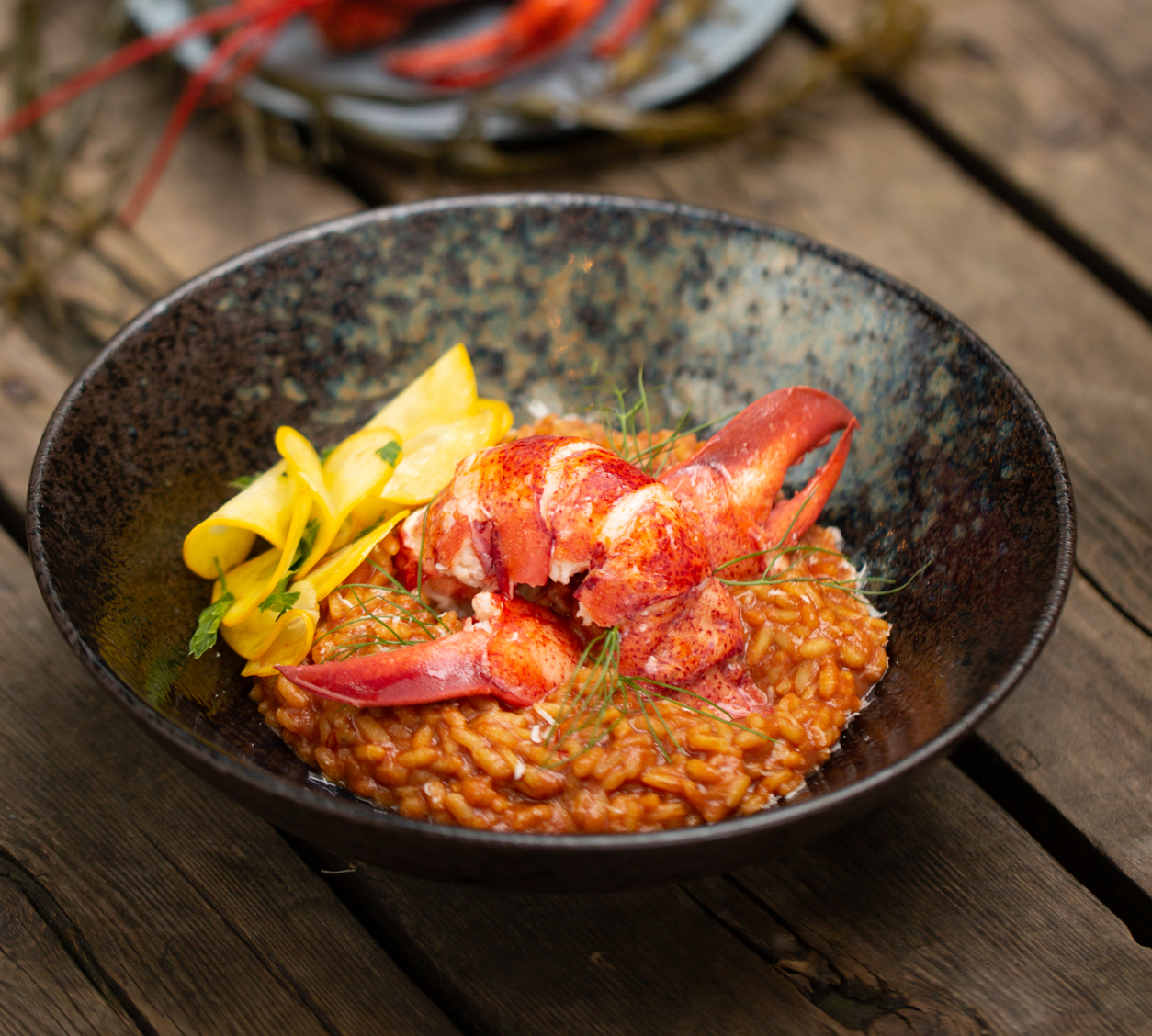 Lobster Saffron Risotto