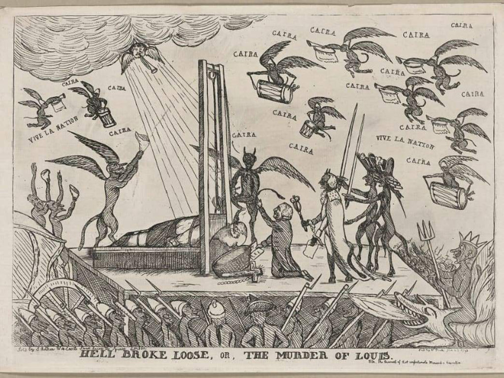 """A Slight Freshness on the Neck"": Prints Depicting the Execution of Louis XVI (ca. 1793)"