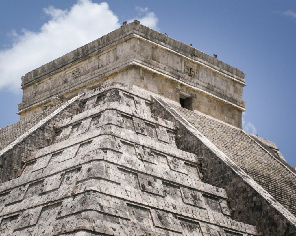 Chichen Itza Main Temple: A fine addition to any home from The Schmidt Fine Art Gallery!