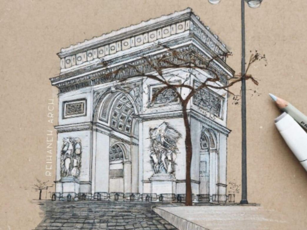 The Arc De Triomphe | It's A Matter Of Perspective