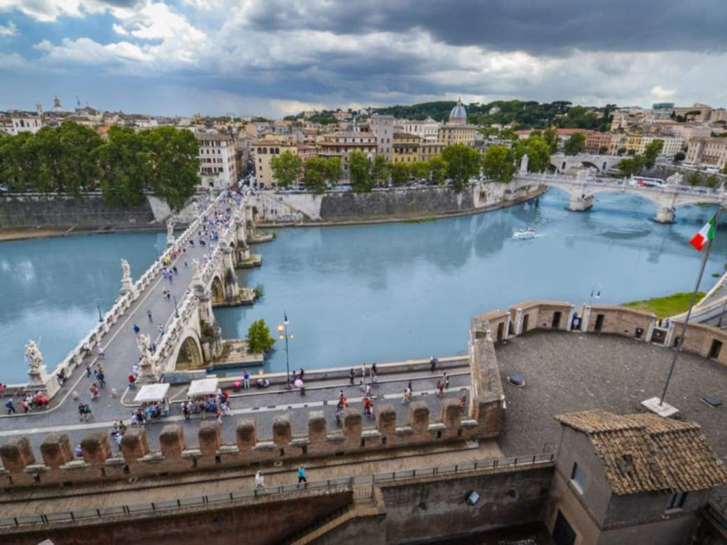 The River Tiber in Rome