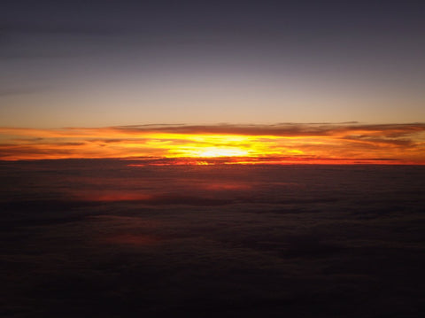 Sunset at 40k Feet