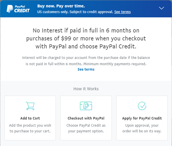 File - No Interest if paid in full with in  6 Months