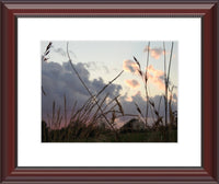 A Wild Evening by Lowe in a 9 x 12 print Framed with Mat in a Beaded Mahogany Frame - Schmidt Fine Art Gallery