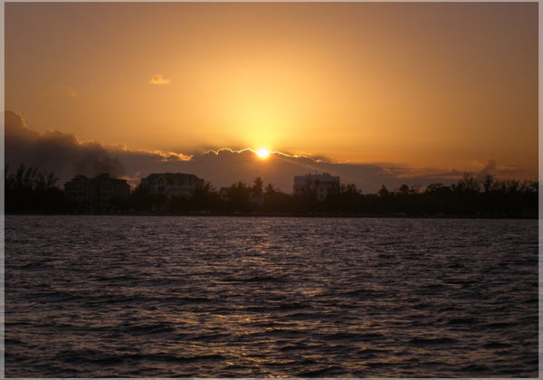 Belize Sunset in a 5 x 7 Print - Schmidt Fine Art Gallery