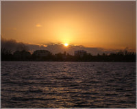 Belize Sunset by Schmidt in a 8 x 10 Unframed Print - Schmidt Fine Art Gallery