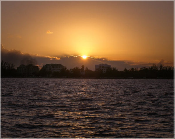 Belize Sunset in a 8 x 10 Print - Schmidt Fine Art Gallery