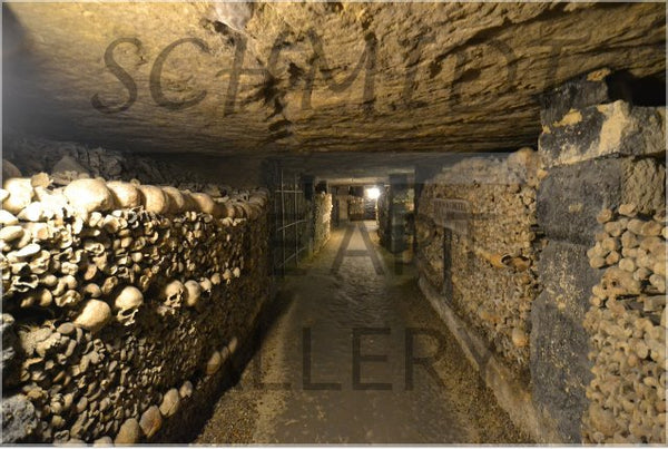 Catacombs of Paris in a 20 x 30 Poster - Schmidt Fine Art Gallery
