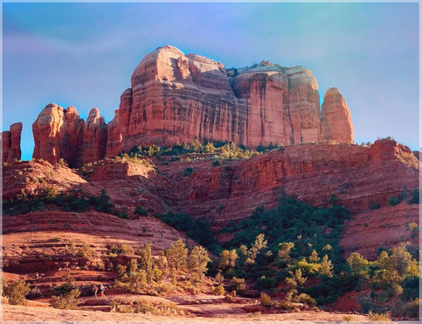 Cathedral Rock in a 10 x 13 Unframed Print - Schmidt Fine Art Gallery