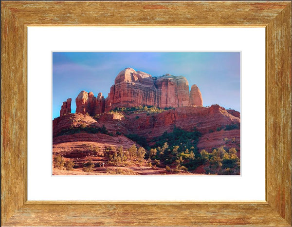 Cathedral Rock in a 10 x 15 Framed Print - Schmidt Fine Art Gallery