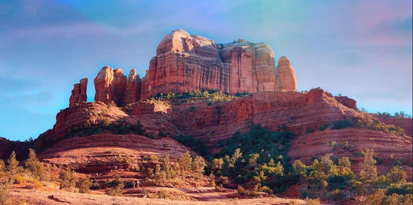 Cathedral Rock in a 10 x 20 Canvas Gallery Wrap - Schmidt Fine Art Gallery