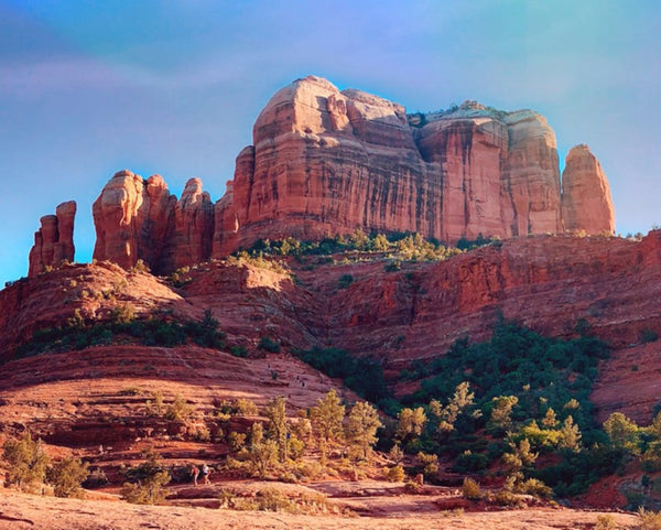 Cathedral Rock in a 16 x 20 Canvas Gallery Wrap - Schmidt Fine Art Gallery