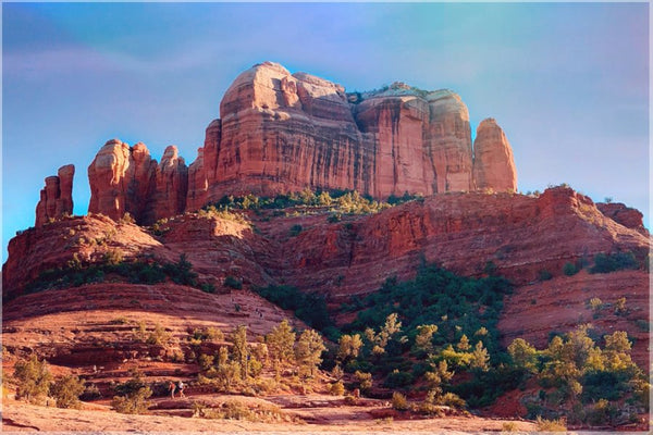 Cathedral Rock in a 16 x 24 Unframed Print - Schmidt Fine Art Gallery