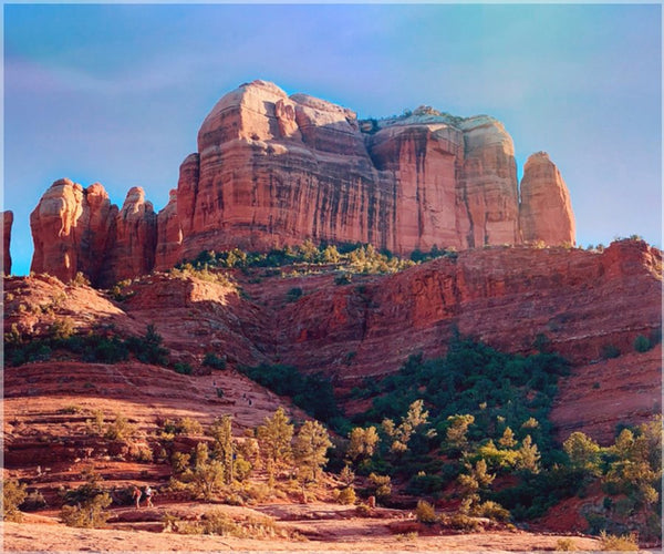 Cathedral Rock in a 20 x 24 Unframed Print - Schmidt Fine Art Gallery