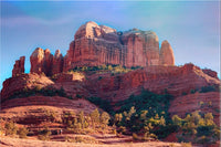 Cathedral Rock in a 24 x 36 Unframed Print - Schmidt Fine Art Gallery
