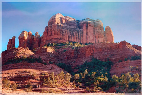 Cathedral Rock in a 4 x 6 Unframed Print - Schmidt Fine Art Gallery