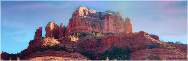 Cathedral Rock in a 5 x 15 Unframed Print - Schmidt Fine Art Gallery
