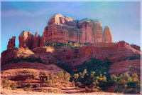Cathedral Rock by Ramirez  in a 6 x 9  Unframed Print - Schmidt Fine Art Gallery