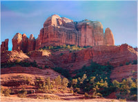 Cathedral Rock in a 9 x 12 Unframed Print - Schmidt Fine Art Gallery