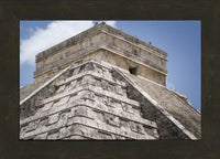 Chichen Itza Main Temple  in a 10 x 15 print Framed in a Espresso Walnut Frame - Schmidt Fine Art Gallery