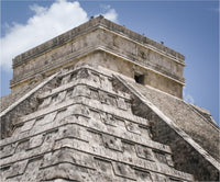 Chichen Itza Main Temple in a 19.5 x 23.5 Acrylic Print - Schmidt Fine Art Gallery