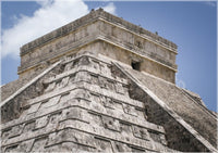 Chichen Itza Main Temple in a 5 x 7 Print - Schmidt Fine Art Gallery