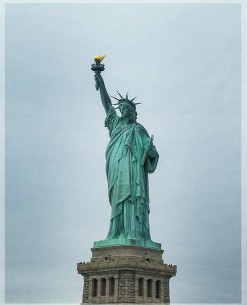 Her Lady Liberty in a 4 x 5 print - Schmidt Fine Art Gallery
