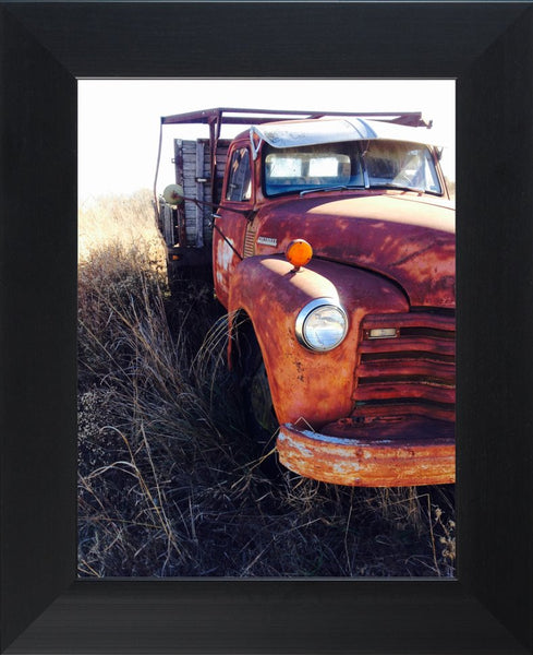 Missouri Rusting Truck by Lowe in a 10 x 13 Print Framed - Schmidt Fine Art Gallery