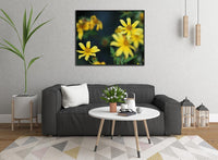 Yellow Spring Flowers in a 16 x 20 Canvas - Schmidt Fine Art Gallery