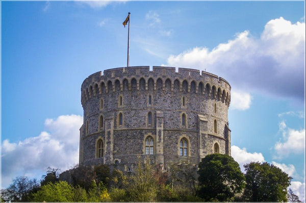 Spring at Windsor Castle 20 x 30 Metal Print - Schmidt Fine Art Gallery