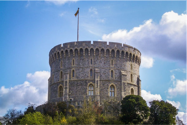 Spring at Windsor Castle 24 x 36 Poster - Schmidt Fine Art Gallery