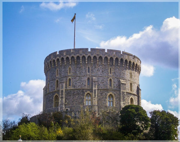 Spring at Windsor Castle 4 x 5 Print - Schmidt Fine Art Gallery