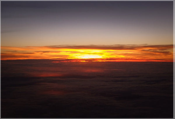 Sunset at 40k Feet 1000 Piece Puzzle 30 x 20 - Schmidt Fine Art Gallery