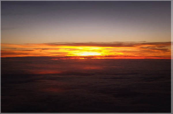 Sunset at 40k Feet Mouse Pad - Schmidt Fine Art Gallery