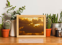 Sunset in the Coral Sea in a 5 x 7 Unframed Print - Schmidt Fine Art Gallery