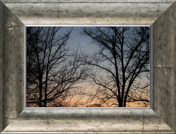 The cornflower blue sky by Murchison in an 8 x 12 print framed - Schmidt Fine Art Gallery