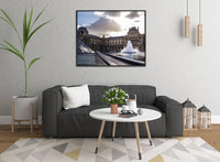 The Louvre Fountain by Schmidt in a 16 x 20 Canvas - Schmidt Fine Art Gallery