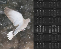 Winter Dove Calendar - Schmidt Fine Art Gallery