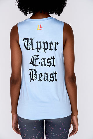 NEW! Upper East Beast Women's Tank Blue