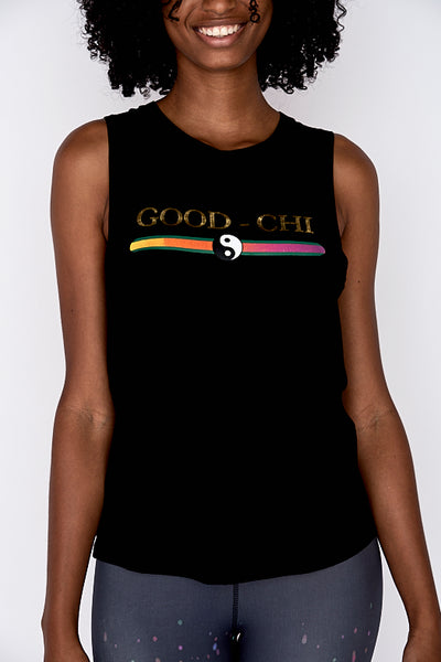 NEW! Good-Chi Women's Tank Black