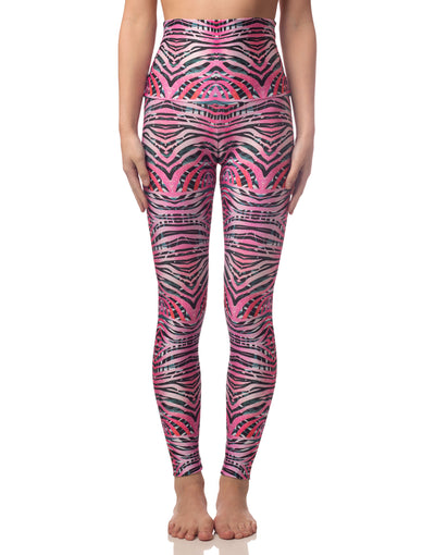 NEW! LL+Emily Pink Tiger Leggings