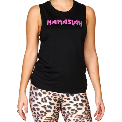 Namaslay Women's Tank Black