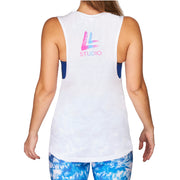 Shake Your Asana Women's Tank White