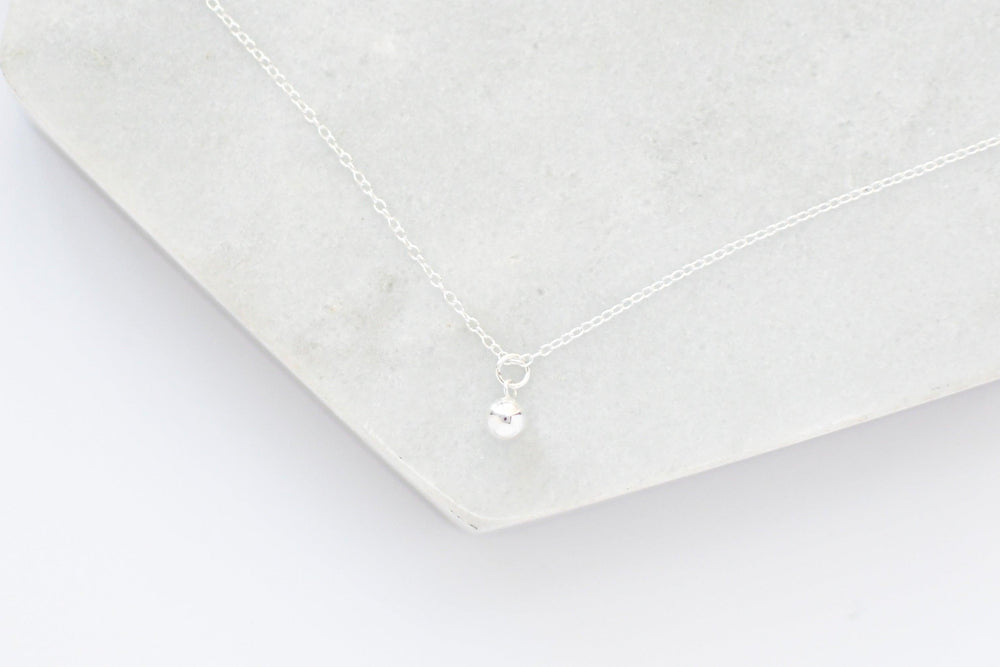 Load image into Gallery viewer, Drop 14k Gold, Rose Gold, Sterling Silver Necklace
