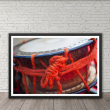 Load image into Gallery viewer, Red Eisa Drum - Prints and Wall Art