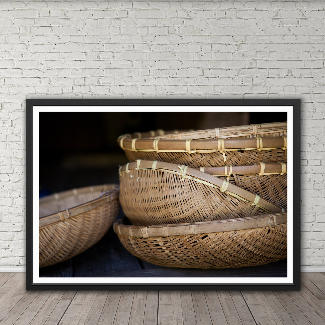 Rice Baskets - Instant Printable Download