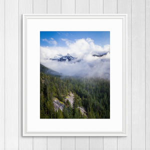 Sky Pilot and Co-Pilot Mountains - Prints and Wall Art