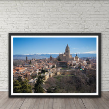 Load image into Gallery viewer, Segovia Cityscape - Instant Printable Download