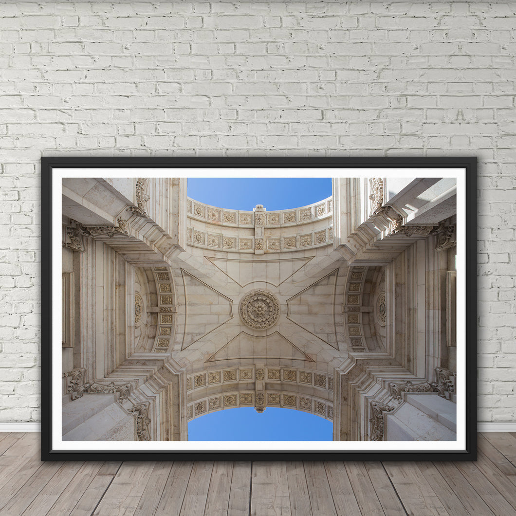 Rua Augusta Arch - Instant Printable Download